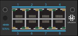 LM83X 8 Port Serial Card