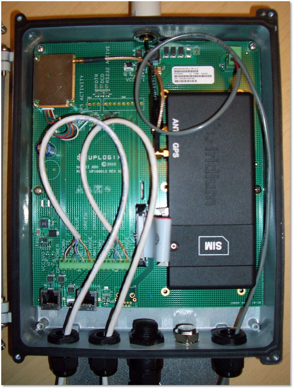 Above Deck Unit with RJ-45 Wiring