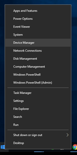Connecting to USB Console Port in Windows 10 - Local Manager User Guide