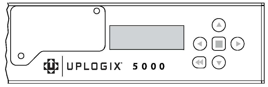 Uplogix 5000 Keypad