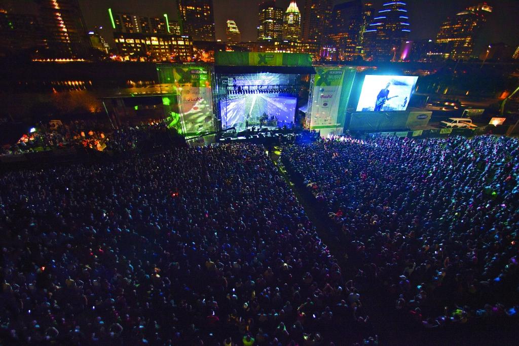 Concert at Auditorium Shores at SXSW 2015