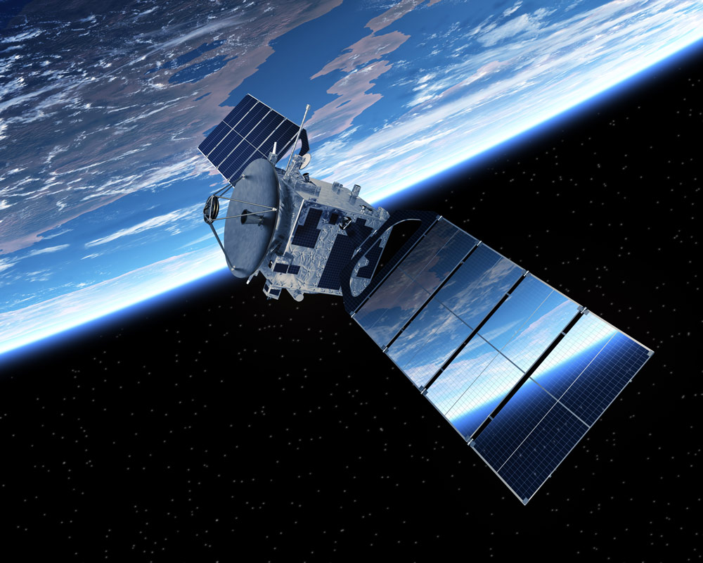 Cloud data center in space