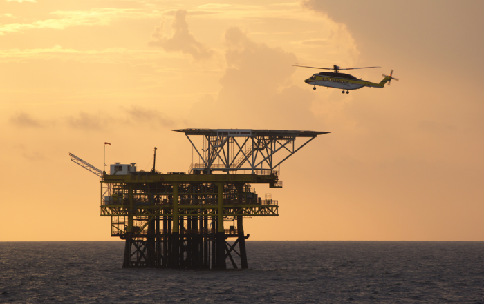 The mood in oil & gas satcom today depends on the current price of oil.