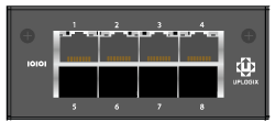 Uplogix 5000 Expansion Module 4-port Serial