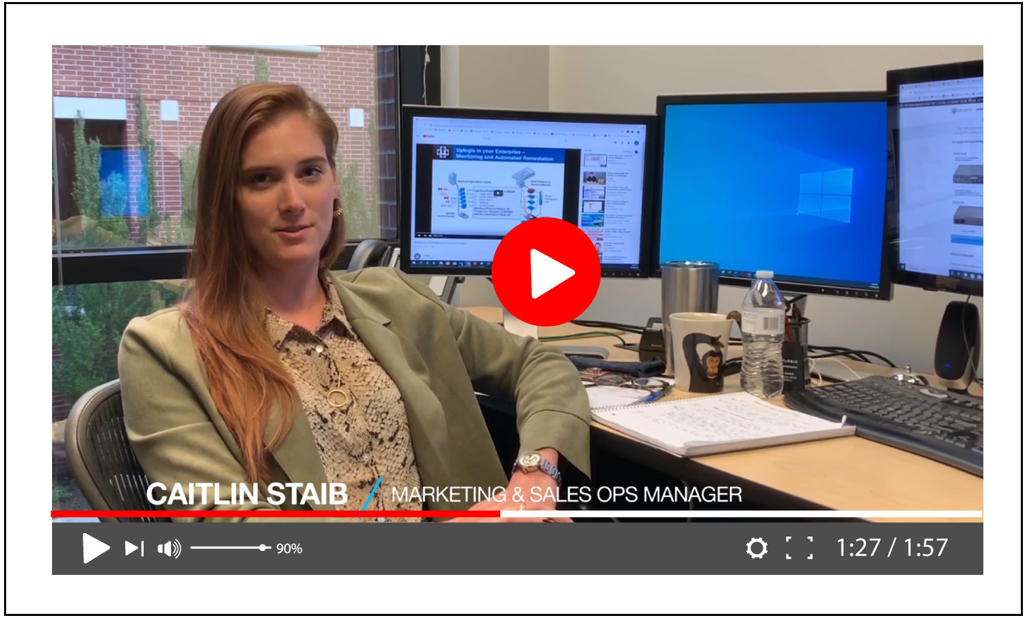 Meet Uplogix: Caitlin Staib, Marketing & Sales Ops Manager