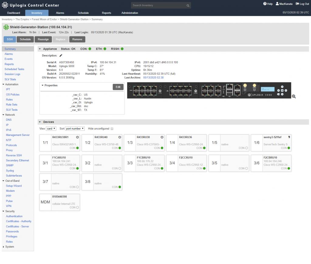 Uplogix v6.0 Software Released