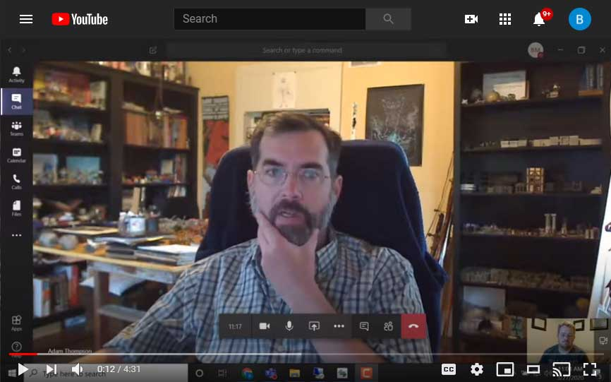 Working from home video - Adam Thompson, Sales Engineer
